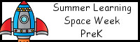 Summer Learning: Prek Space Week