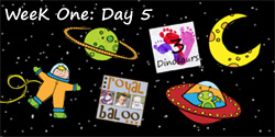 Jump In to Summer Learning: Week 1 Space Day 5