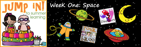 Jump In to Summer Learning: Week 1 Space