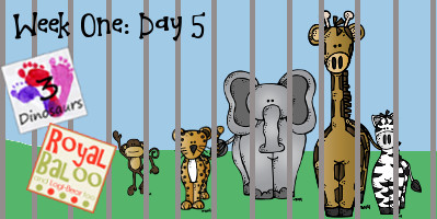 Swing Into Summer Learning: Week 1 Zoo Day 5