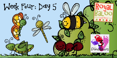Swing Into Summer Learning: Week 4 Bugs Day 5