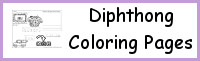 Diphthongs Coloring Pages