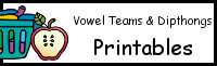 Vowel Team & Diphthong Printables