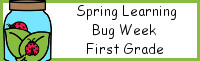 Spring Learning: First Grade Bug Week