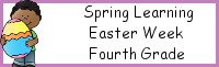 Spring Learning: Fourth Grade Easter Week