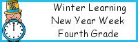 Winter Learning: Fourth Grade New Year Week