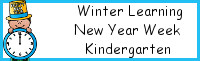 Winter Learning: Kindergarten New Year Week