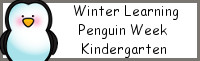 Winter Learning: Kindergarten Penguin Week