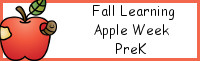 Fall Learning: PreK Apple Week