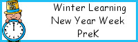 Winter Learning: PreK New Year Week