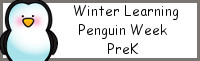 Winter Learning: PreK Penguin Week