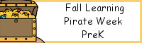 Fall Learning: PreK Pirate Week
