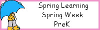 Spring Learning: PreK Spring Week - No-Prep