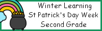 Winter Learning: First Grade St. Patrick's Day Week - No-Prep
