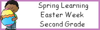 Spring Learning: Second Grade Easter Week