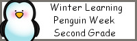 Winter Learning: Second Grade Penguin Week