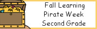 Fall Learning: Second Grade Pirate Week