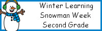 Winter Learning: Second Grade Snowman Week
