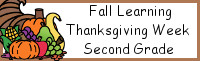 Fall Learning: Second Grade Thanksgiving Week