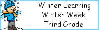 Winter Learning: Third Grade Winter Week