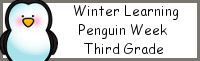 Winter Learning: Third Grade Penguin Week