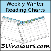 Weekly Winter Reading Chart