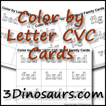 Color by Letter Cards