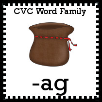 CVC AG Family Words