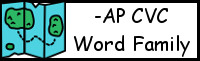 CVC Word Family Printables: -AP