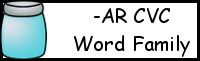 CVC Word Family Printables: -AR