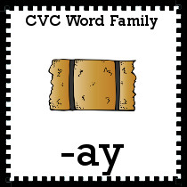 -ay Word Family