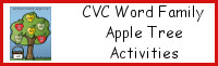 CVC Word Family Apple Tree Activities