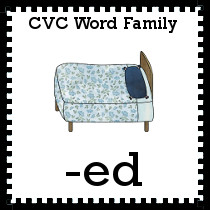 -ed Word Family