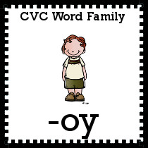 -oy Word Family