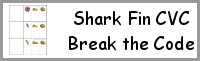 Shark Fin CVC Break the Code