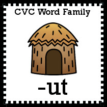 -ut Word Family