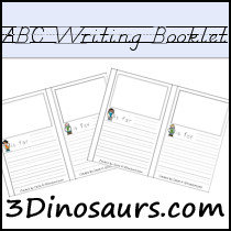 ABC Writing Booklet