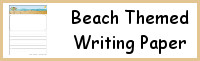 Beach Themed Writing Paper