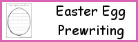 Easter Egg Themed Prewriting
