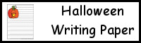 Halloween Themed Writing Paper