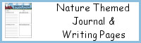 Nature Themed Journal & Writing Pages