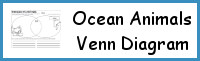 Ocean Animals Venn Diagram