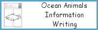 Ocean Animals Information Writing