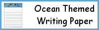 Ocean Themed Writing Paper