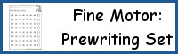 Fine Motor Prewriting Set