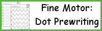 Fine Motor Dot Prewriting Set