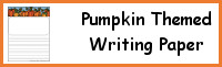 Pumpkin Themed Writing Papers