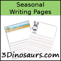 Seasonal Writing Pages