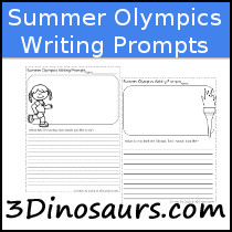 Summer Olympics Themed Writing Prompts