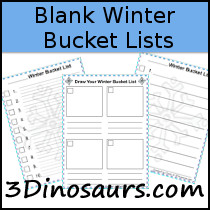 Winter Bucket Lists